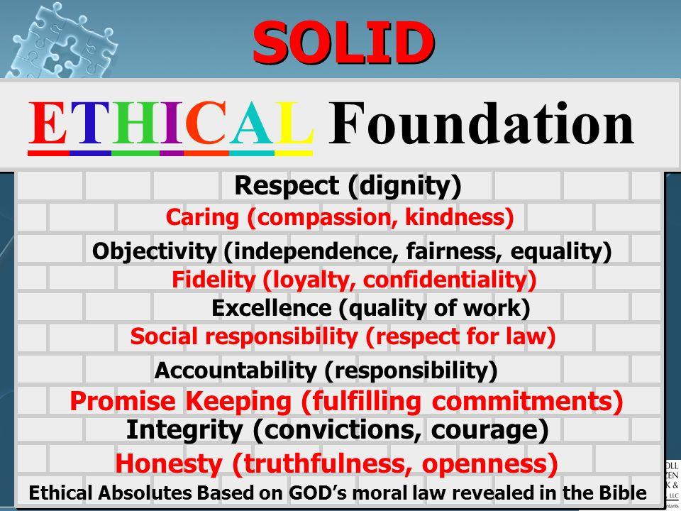 74 Cracked ETHICAL Foundation?? Behaviorism BehaviorismThe result…people are not responsible for personal behavior. Cultural Relativism– T Cultural Re