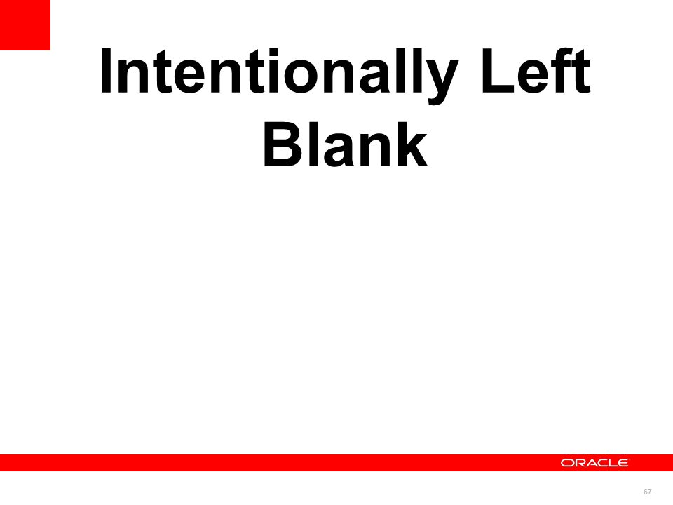 67 Intentionally Left Blank