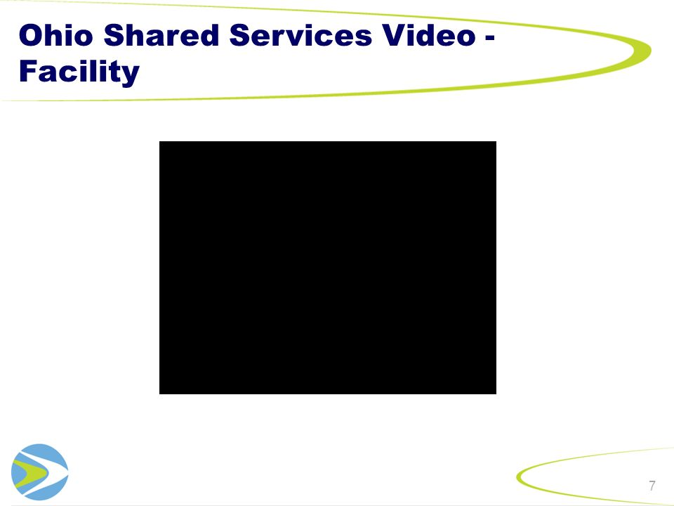 Ohio Shared Services Video - Facility 7