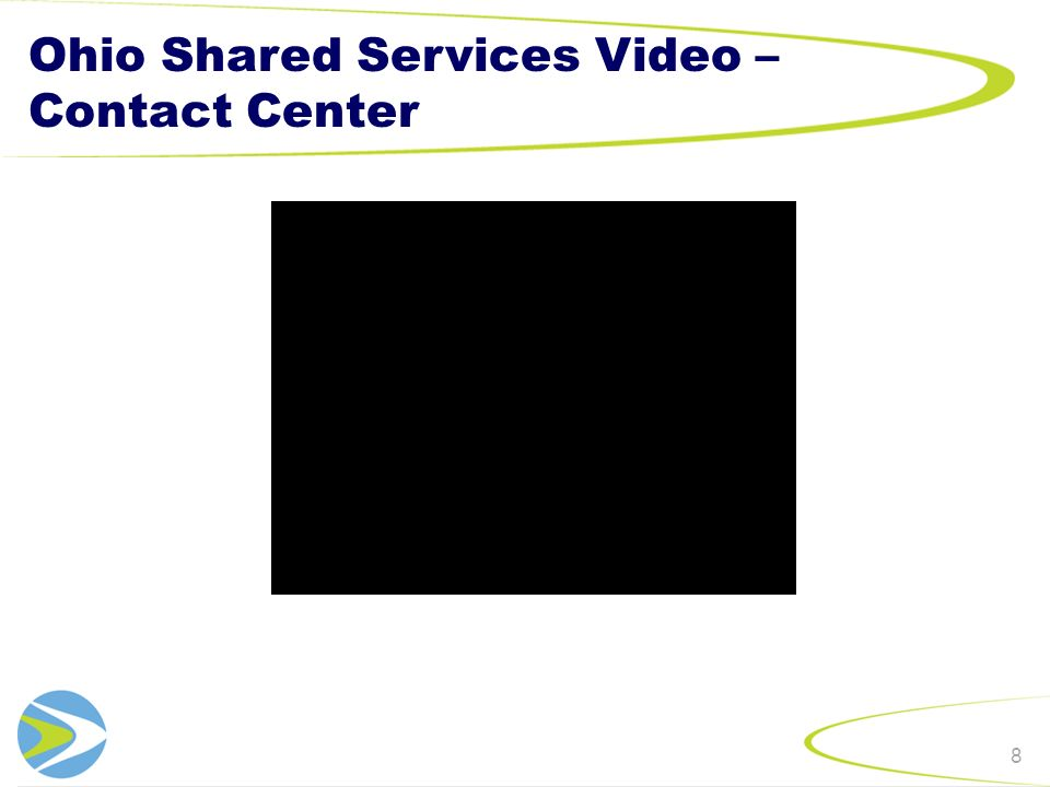 Reporting Overview By directly measuring strategic objectives outlined in the Ohio Shared Services Mission, the Balanced Scorecard will be a key tool to communicate the quantitative successes or challenges of Shared Services to a wide audience.