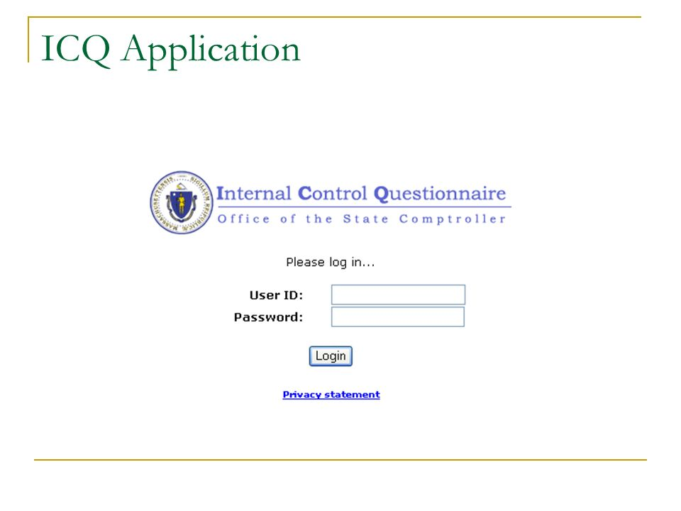 ICQ Application