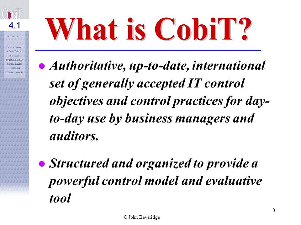 © John Beveridge 2 Deputy State Auditor, Commonwealth of Massachusetts Adjunct faculty at Bentley College Co-Chair of Commonwealths Enterprise Securit