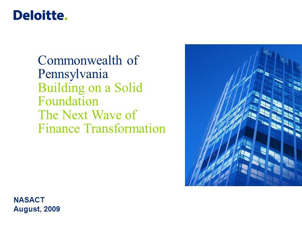 Copyright © 2009 Deloitte Development LLC. All rights reserved. 18 Questions? Joan Sullivan jsullivan@osc.state.ny.us Terry Blake tblake@deloitte.com