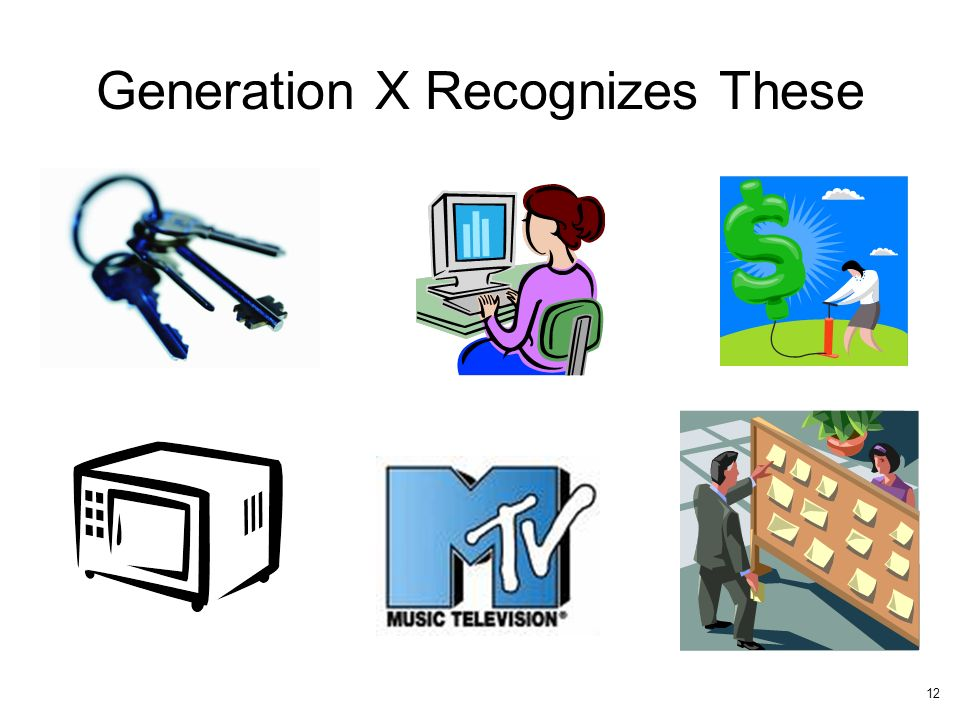 Generation X Recognizes These 12