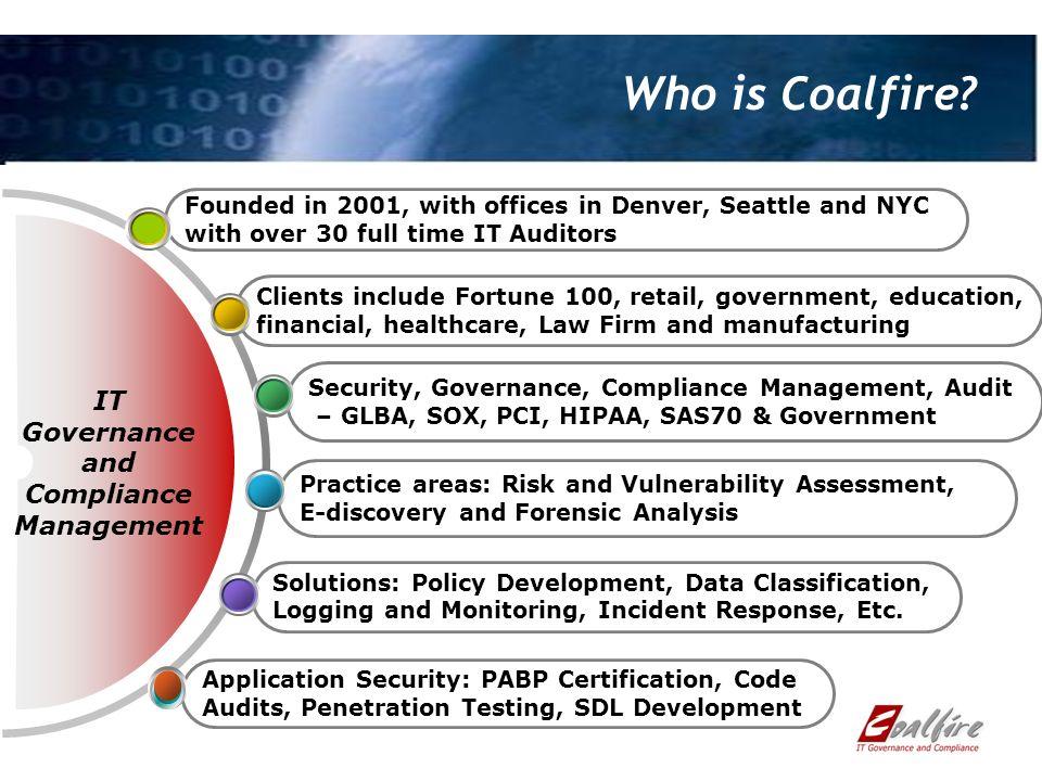 Who is Coalfire.