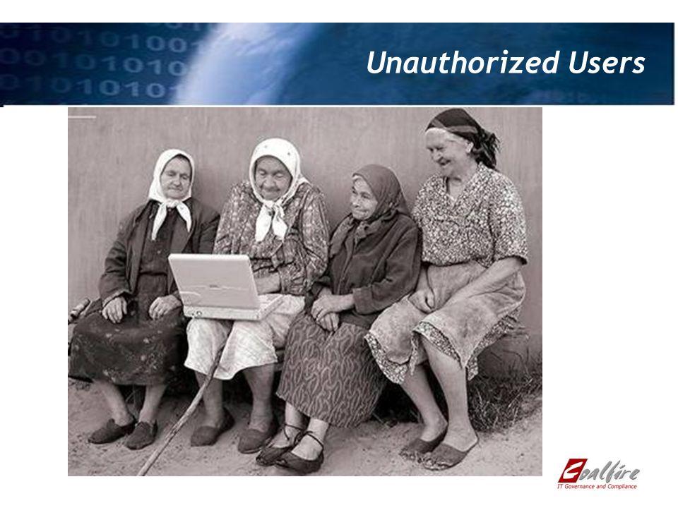Unauthorized Users