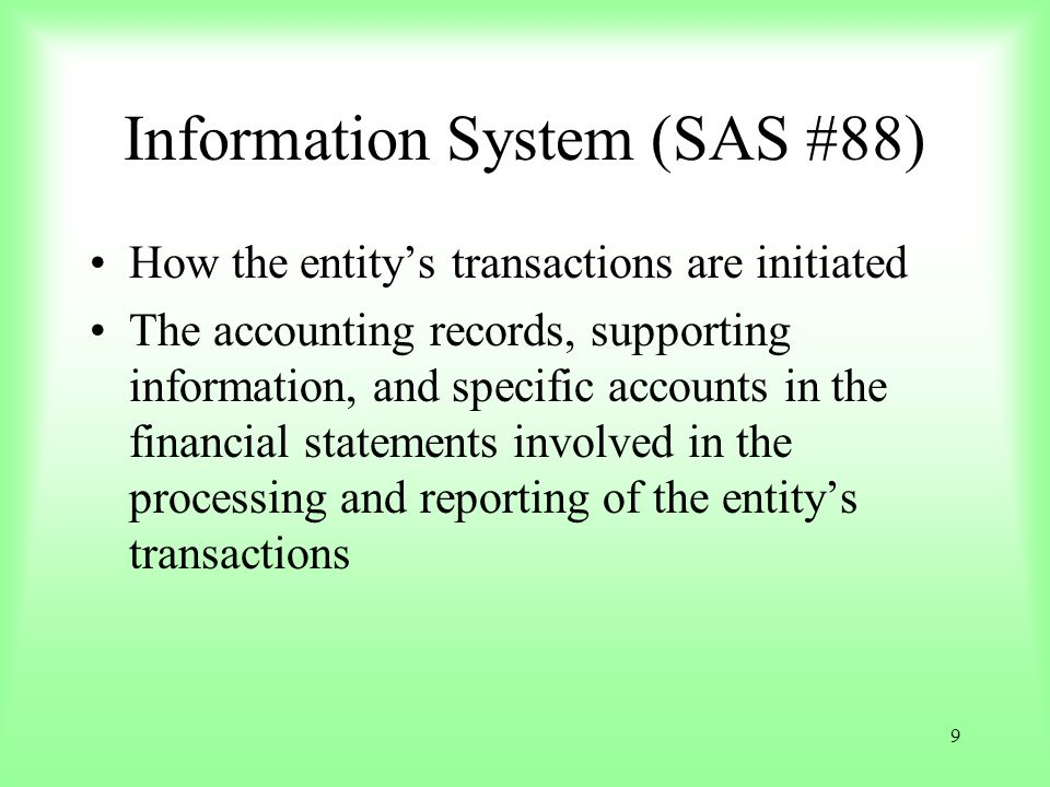 40 Example (1) Existence or occurrence Savings deposits and withdrawal transactions are received from authorized sources.