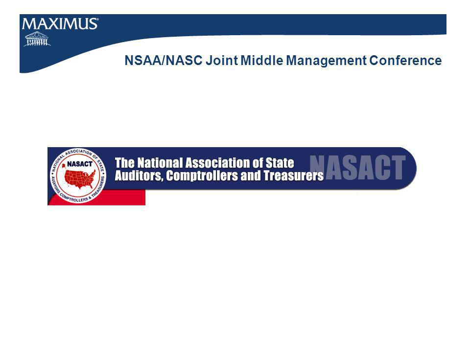 NSAA/NASC Joint Middle Management Conference