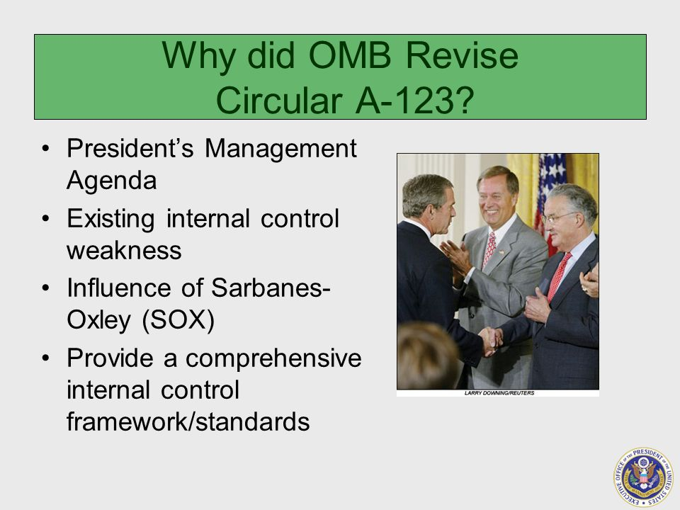 Why did OMB Revise Circular A-123.