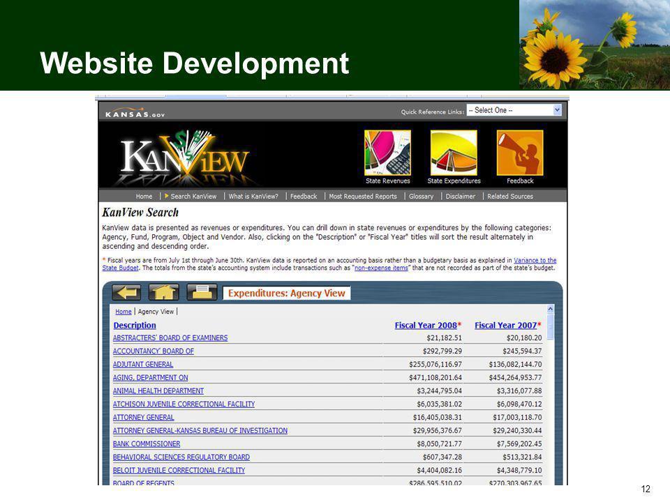 12 Website Development
