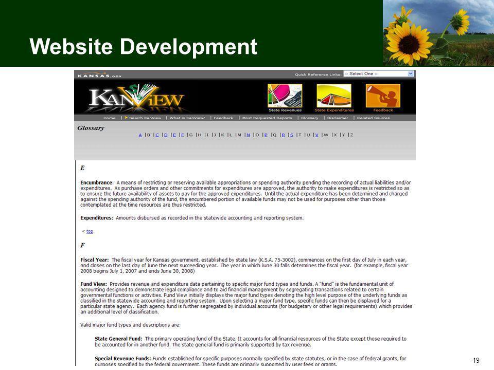 19 Website Development