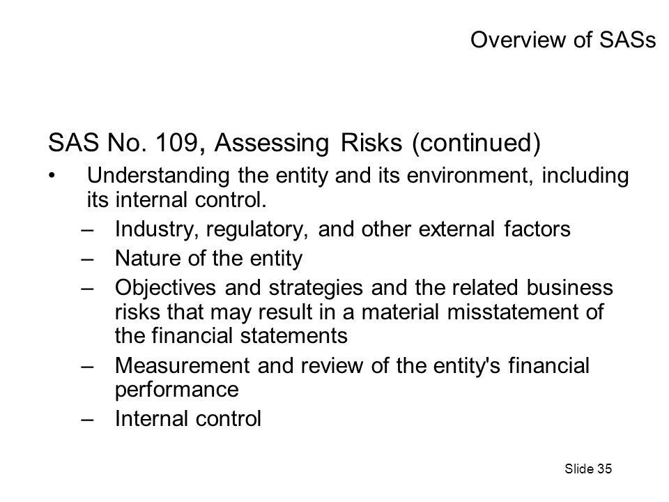 Slide 35 Overview of SASs SAS No.