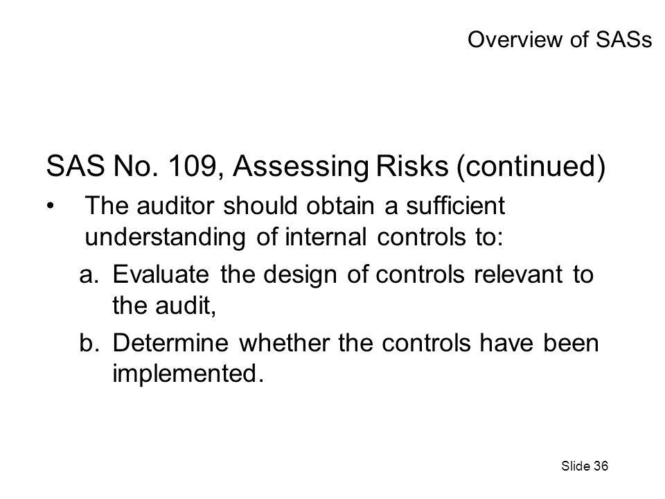 Slide 36 Overview of SASs SAS No.