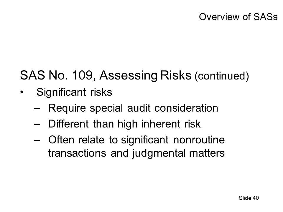 Slide 40 Overview of SASs SAS No.