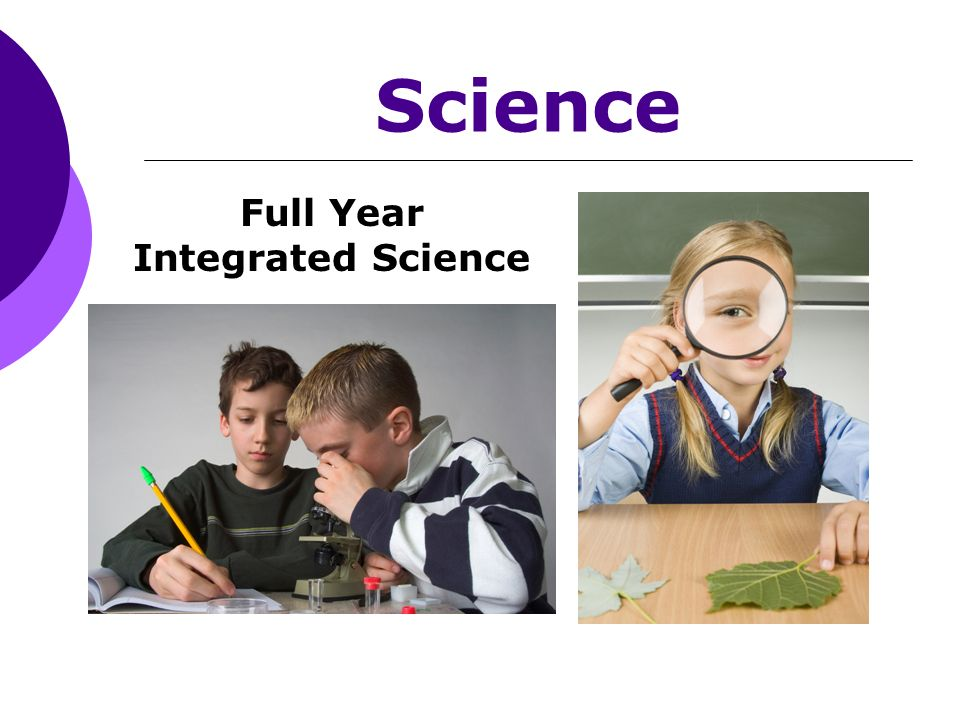 Science Full Year Integrated Science