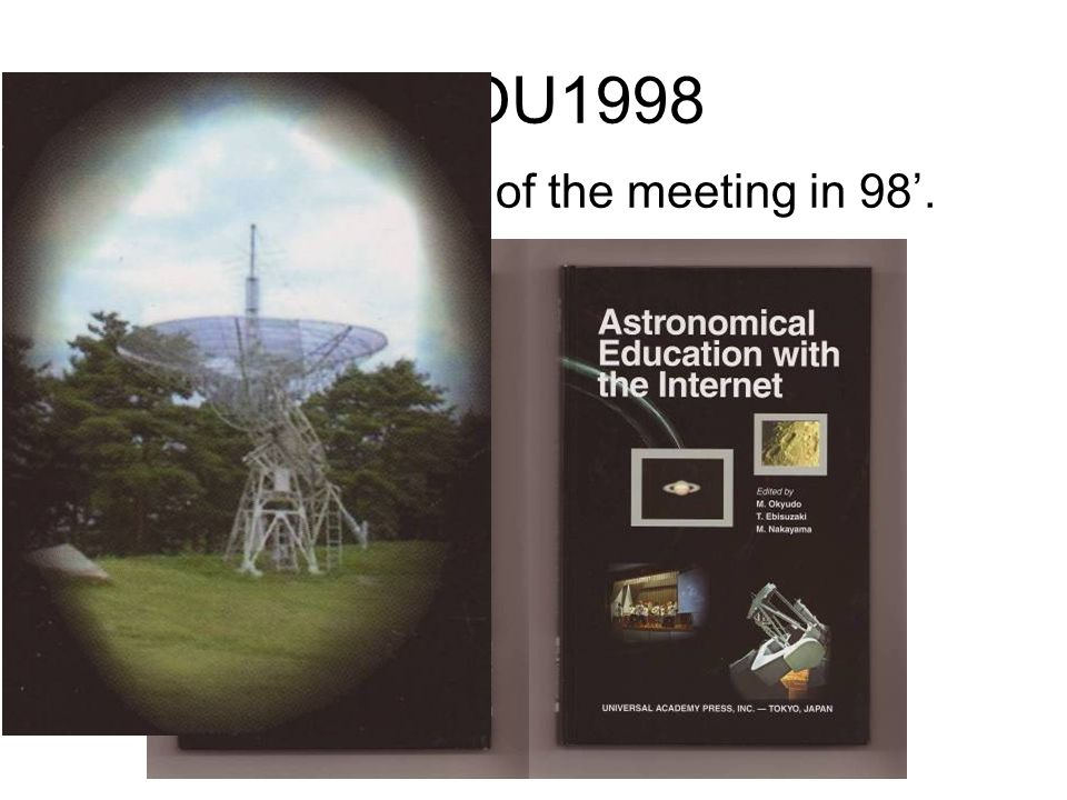 GHOU1998 The proceedings of the meeting in 98.