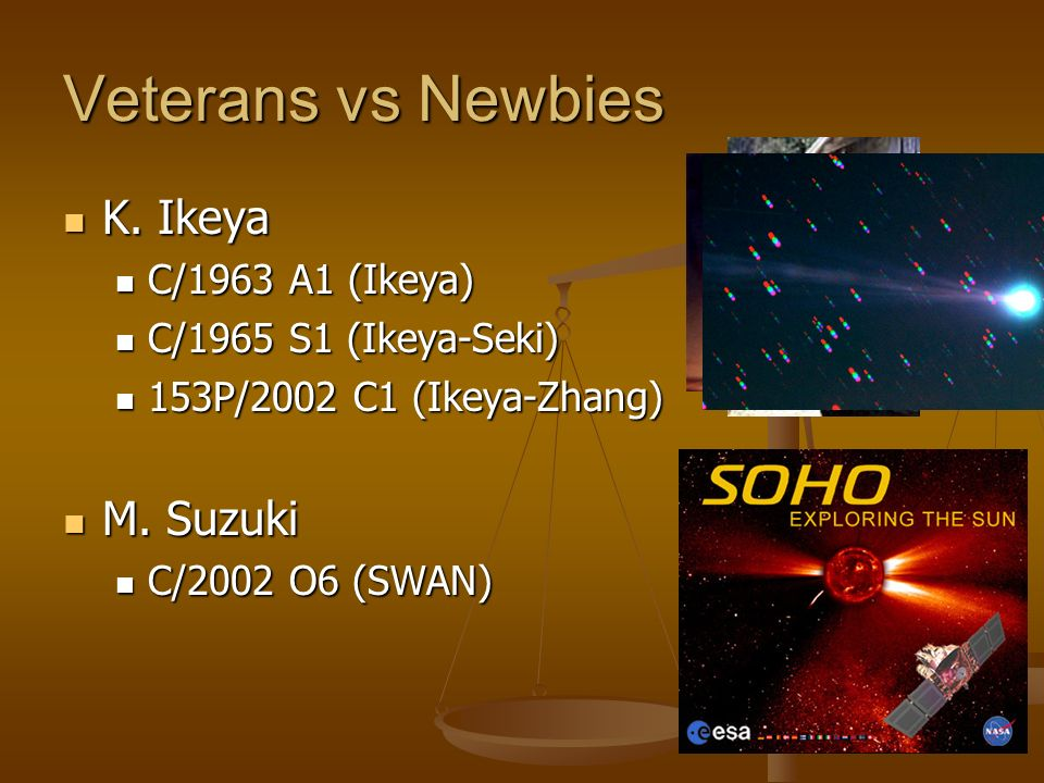Veterans vs Newbies K. Ikeya K.