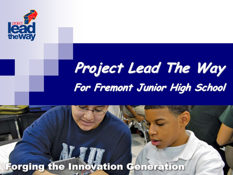 Project Lead The Way For Fremont Junior High School