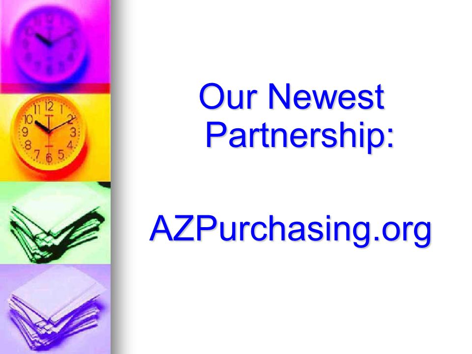 Our Newest Partnership: AZPurchasing.org