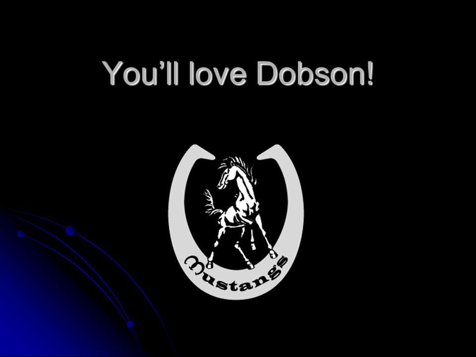 Youll love Dobson!