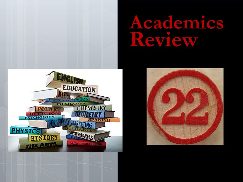 Academics Review
