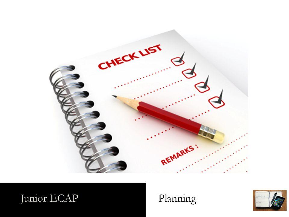 Junior ECAP Planning