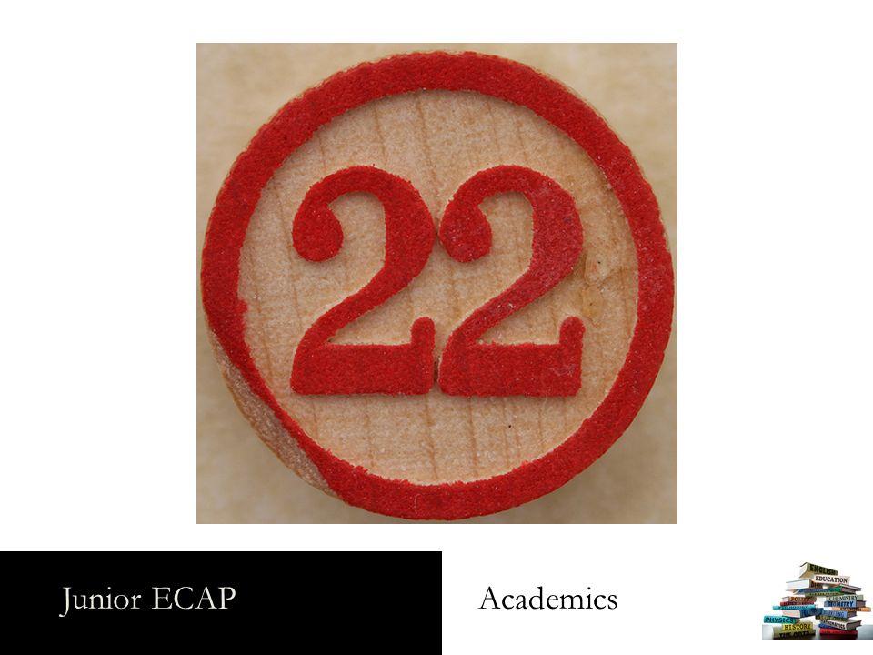 Junior ECAP Academics