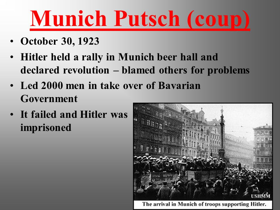 Party Platform Nazis were racist Fascists: anti-Semitic, anti- Communist, anti-Democracy. Their goal was to restore the glory of Germany through milit