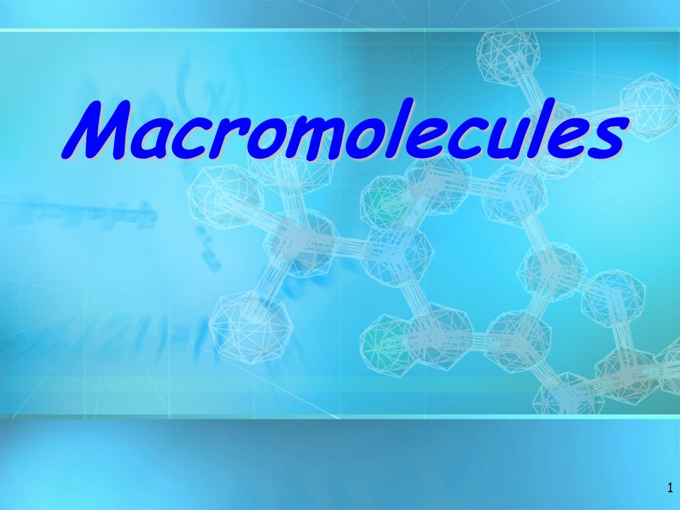 2 Topic/Do Topic: Macromolecule Do: Take down Cornell Notes.