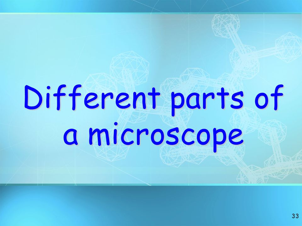 32 Compound Microscope Instrument for observing small objects Magnify images up to 2000X their size