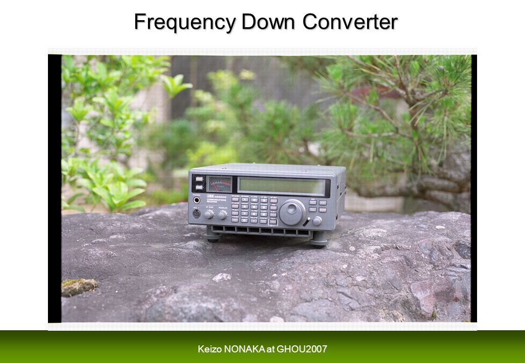Frequency Down Converter Frequency Down Converter
