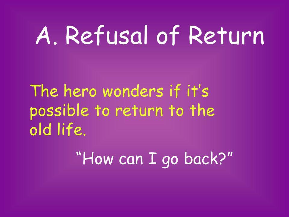 Part III. The Return