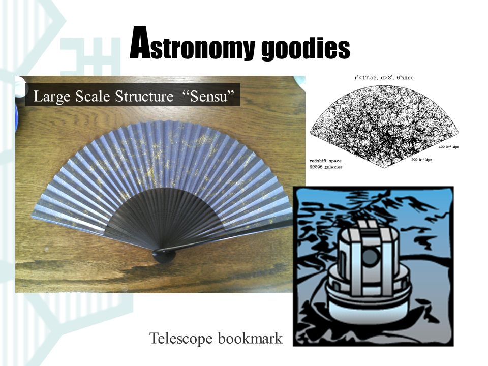 Large Scale Structure Sensu Telescope bookmark A stronomy goodies