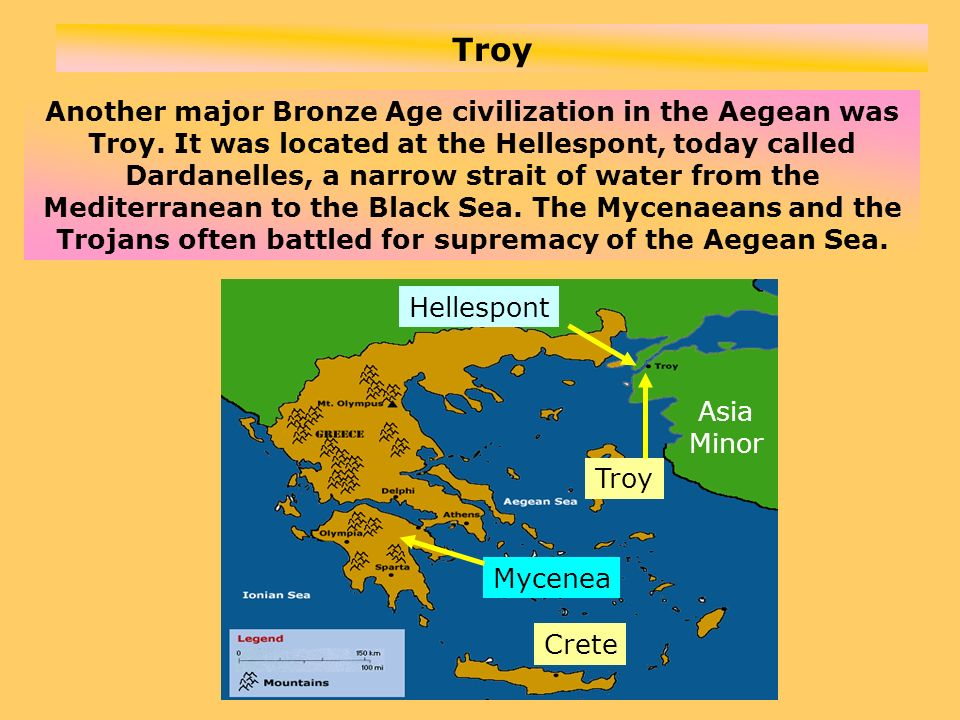 For thousands of years Troy was a legend.