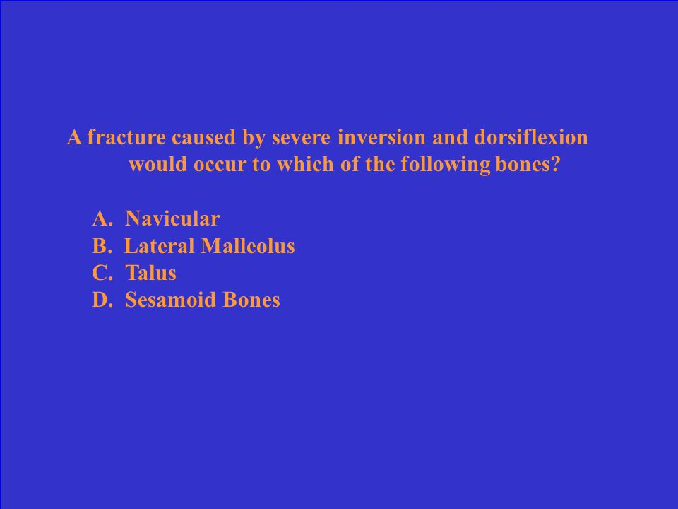 The strongest cruciate ligament of the knee is the: A.