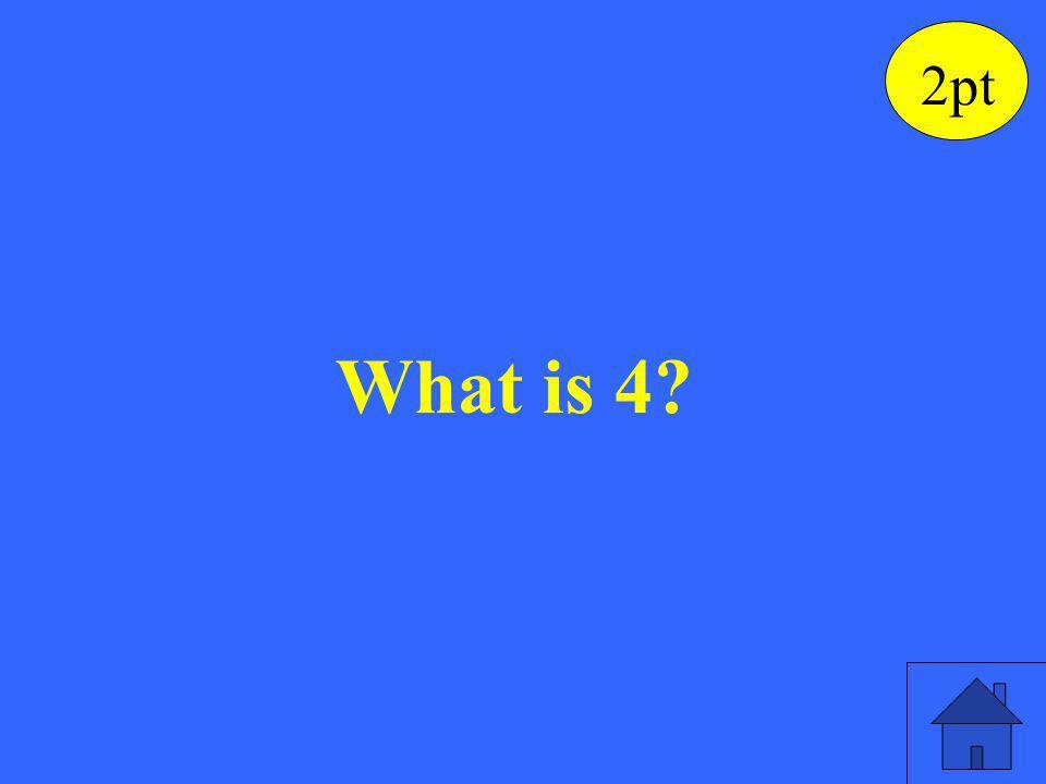 ½ (b 1 + b 2 ), for b 1 = 3, b 2 = 5. 2pt