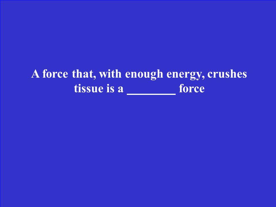 Multiple Choice True/ False Tissue Stresses Misc.Etc.