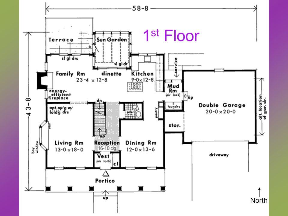 1 st Floor North