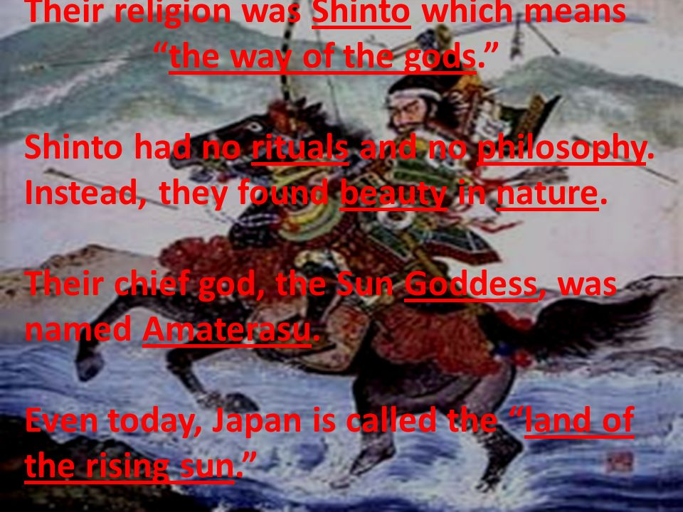 500 AD – Chinese Influence on Japan Japan is located off the coast of Asia.