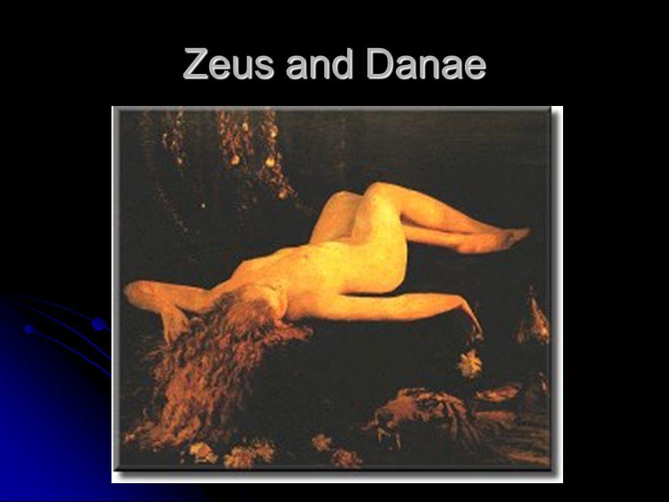 Zeus and Danae