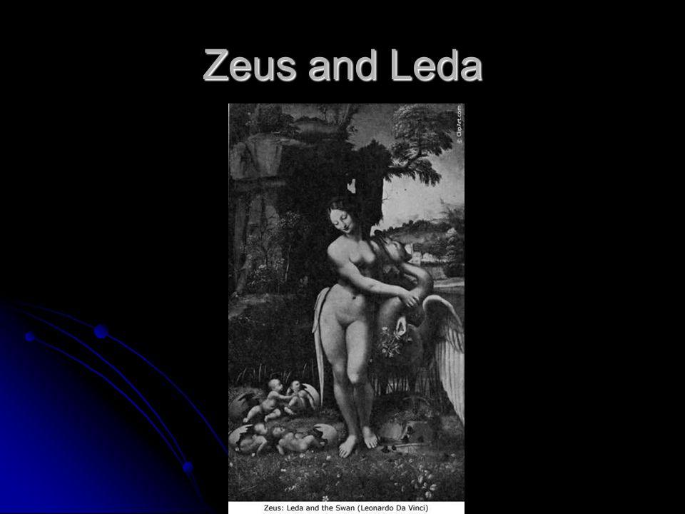 Zeus and Leda