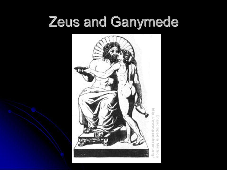 Zeus and Ganymede