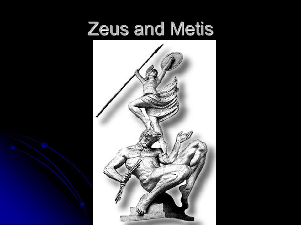Zeus and Metis