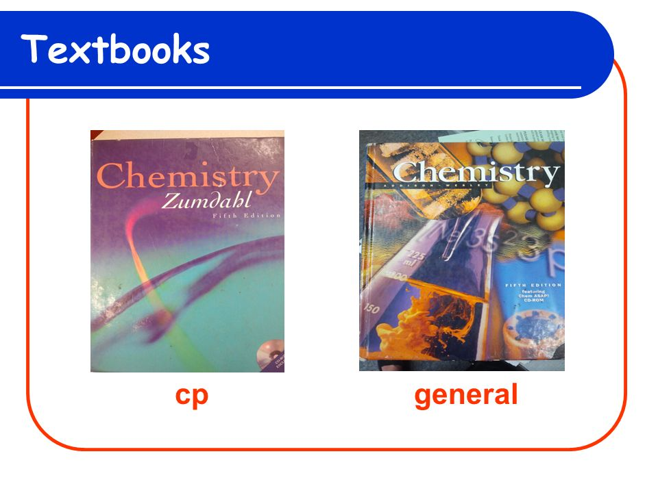 Textbooks cpgeneral
