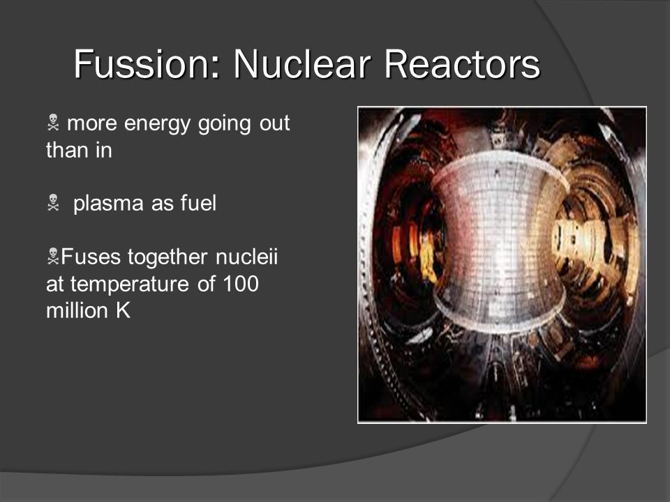 Nuclear Fusion - the difference in mass is converted to energy