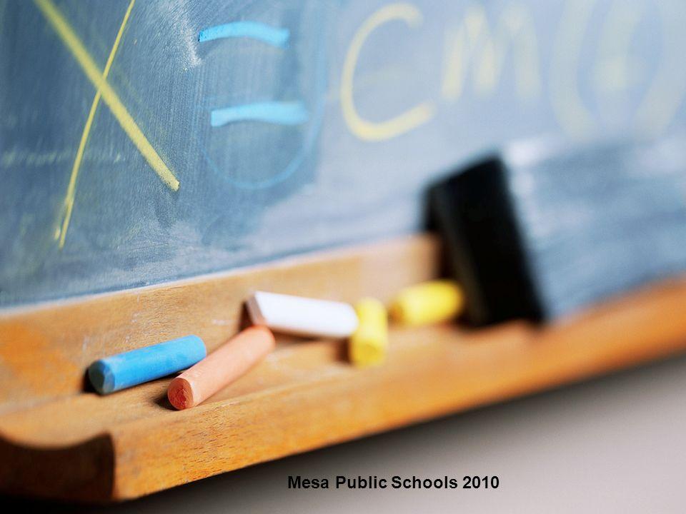 1 Mesa Public Schools 2010