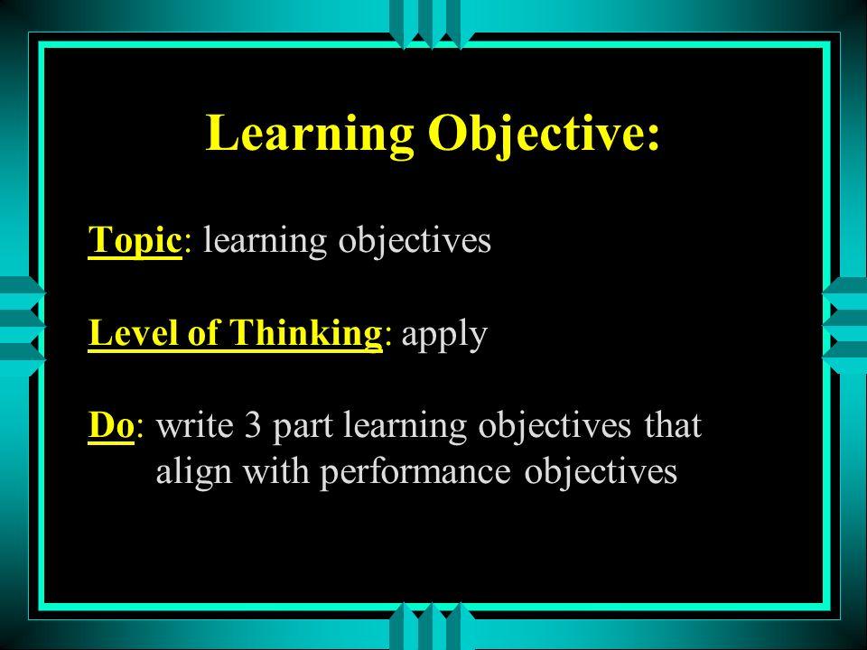 Understand Description: comprehend ideas, meanings & info Examples: Paraphrase a Haiku poem.