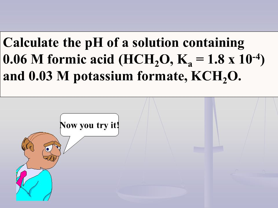 HCl Calculate the fluoride ion concentration and pH of a solution containing 0.10 mol of HCl and 0.20 mol HF in 1.0 L HF (aq) + H 2 O H 3 O + (aq) + F - (aq) HCl (aq) + H 2 O H 3 O + (aq) + Cl - (aq)