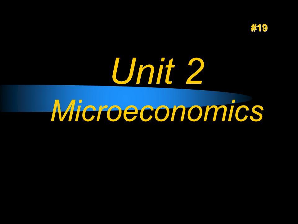 Unit 2 Microeconomics #19