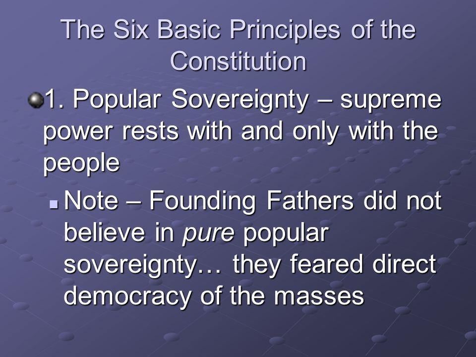 The Seven Articles I. The Legislative Branch II. The Executive Branch III. The Judicial Branch IV. Relations Among States V. The Amendment Process VI.